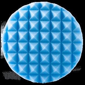 Полировальный диск HANKO пирамидальный 150 мм, голубой цвет