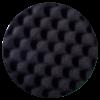 Полировальный диск HANKO рифленый черного цвета, толщина 30 мм