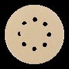 Шлифовальные круги HANKO AP33M 125 мм, 8 отверстий