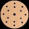 Шлифовальные круги HANKO AP33M 150 мм, 15 отверстий