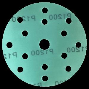 Шлифовальные круги HANKO GF444 на 150 мм, 15 отверстий