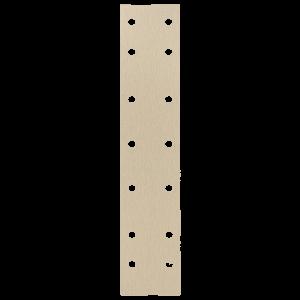 Шлифовальные полоски HANKO AP33M 70 x 420 мм, 14 отверстий