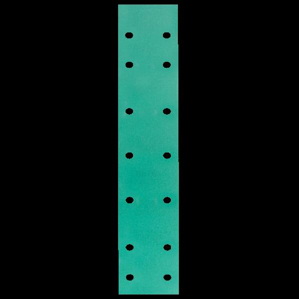 Шлифовальные полоски HANKO DC341 70 x 420 мм, 14 отверстий