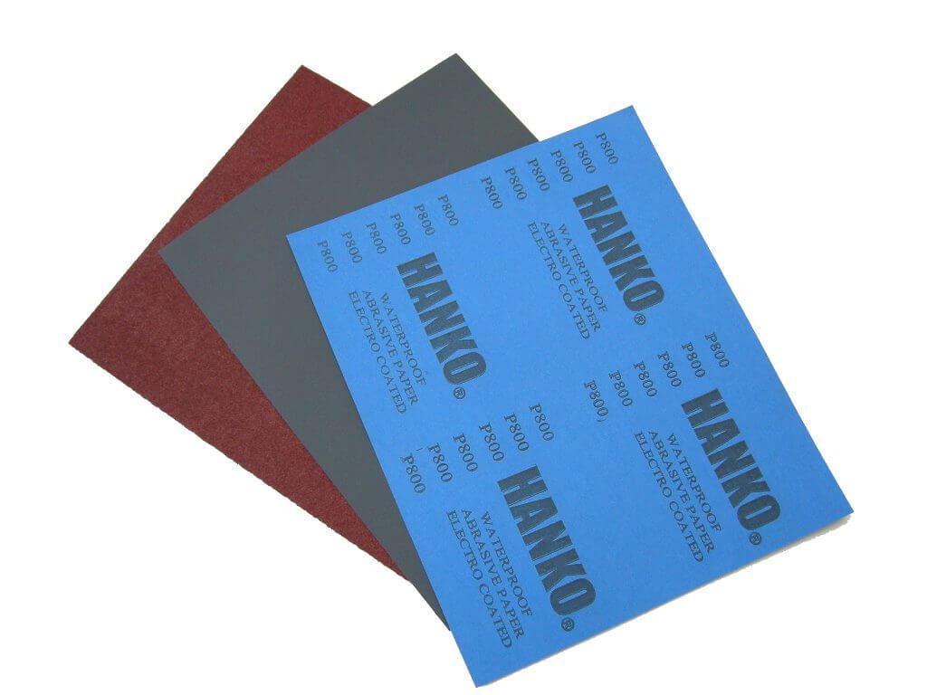 Водостойкая шлифовальная бумага Hanko