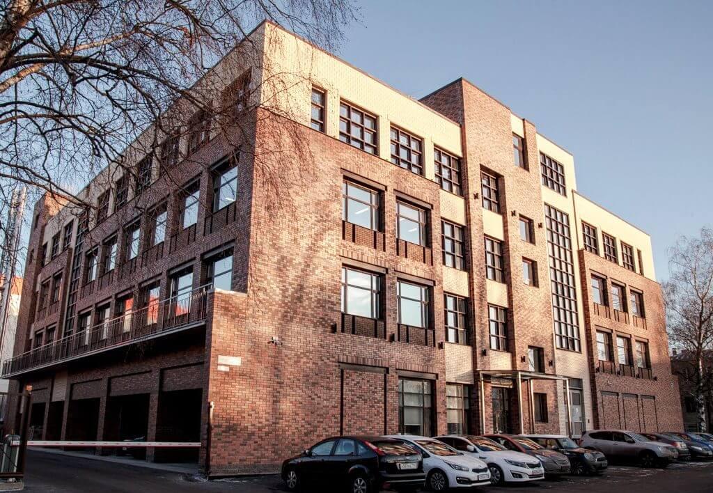 здание с офисом компании Hanko