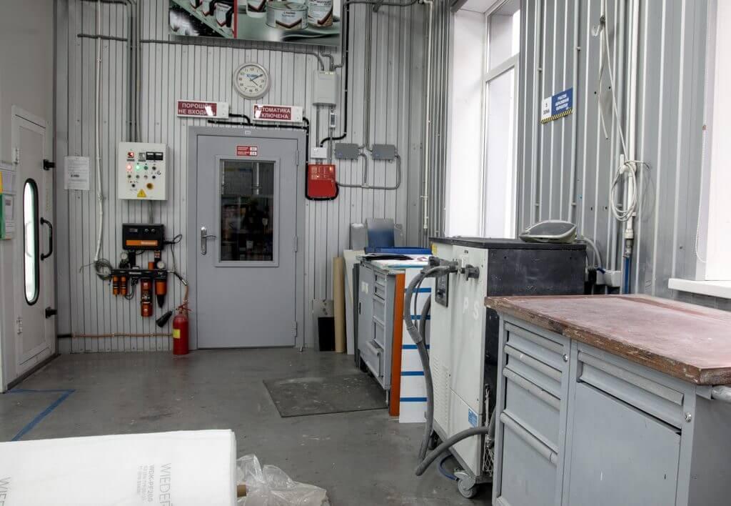 складское помещение материалов Hanko
