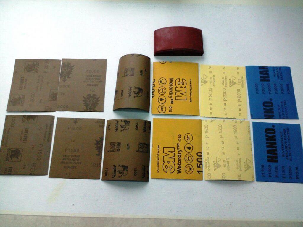 тестирование водостойкой бумаги Hanko и её конкурентов