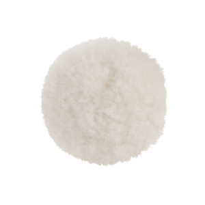 Полировальный диск белый HANKO из натуральной овчины 80 мм