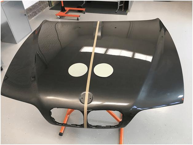 финишная обработка кузова при помощи HANKO Fast Cut