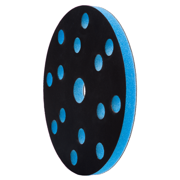 промежуточная подложка 147 х 10 мм, 15 отв. цвет синий